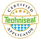 Certified Techniseal Applicator badge