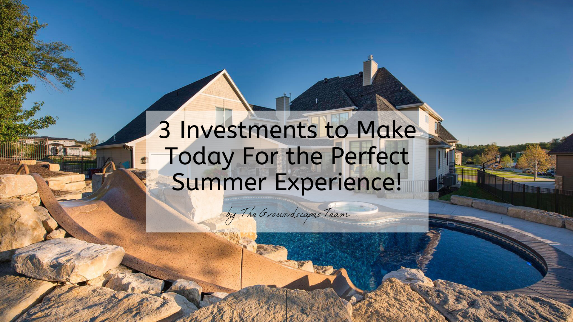 3 Investments to Make Today For the Perfect Summer Experience!