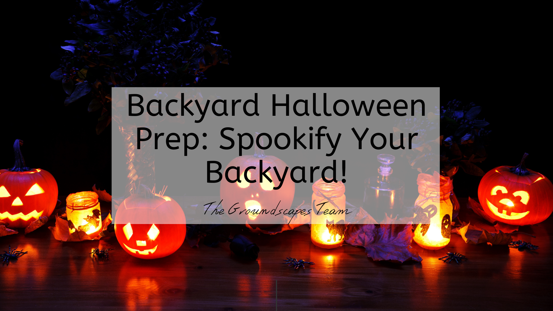 Backyard Halloween Prep: Spookify Your Backyard!