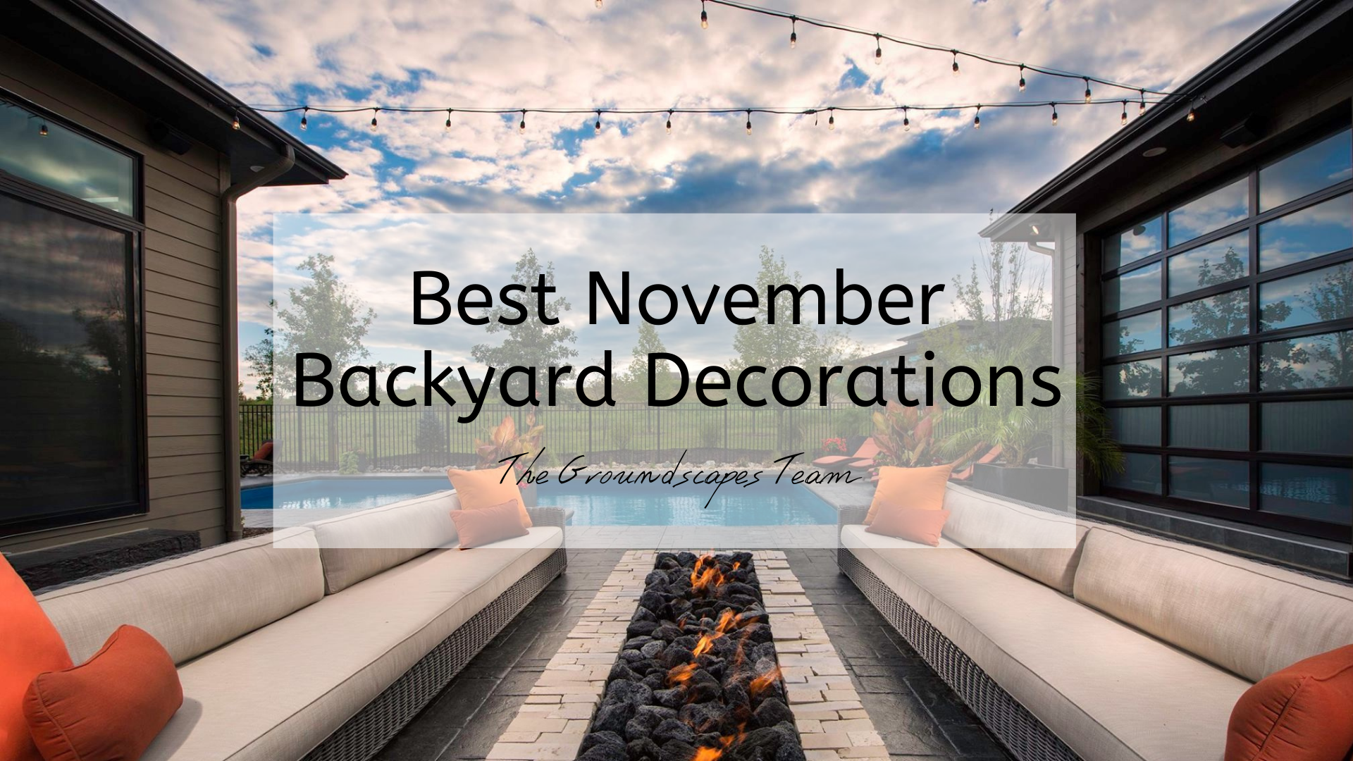 Best November Backyard Decorations