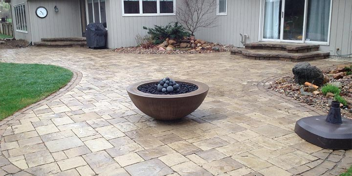 Fire bowls and fire columns gallery by Groundscapes, Inc..