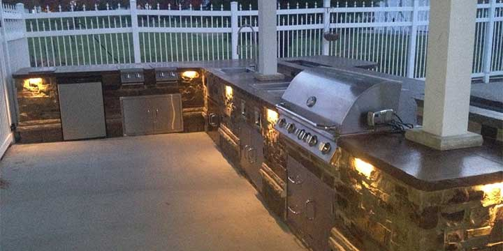 Outdoor Kitchens gallery by Groundscapes, Inc..